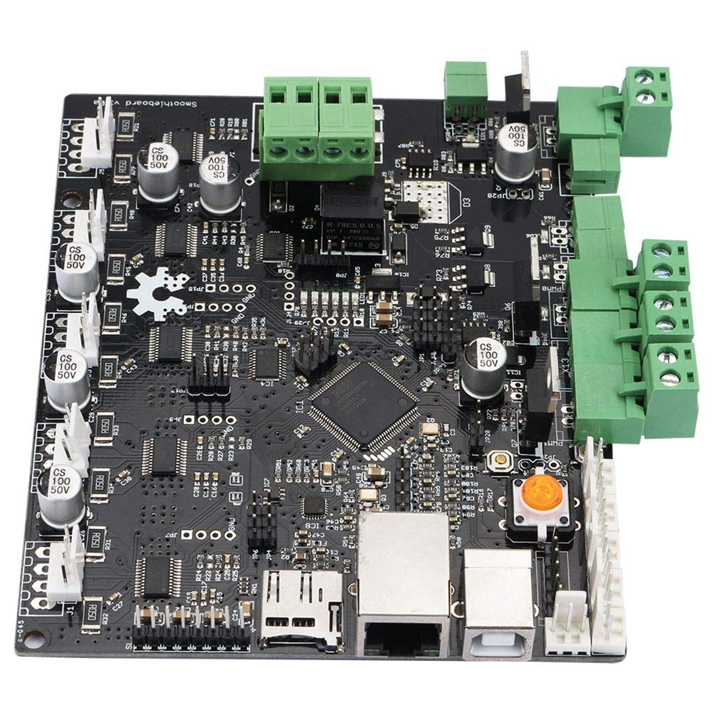 Zamtac 1 Piece of 3D Printer Smoothieboard 5X V1.0 ARM Open Source Board para CNC - (Color: Black) by GIMAX (Image #2)