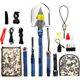 Military Survival Shovel - Professional Multi-functional Ultra-durable Aluminum Spade for Camping Hiking …