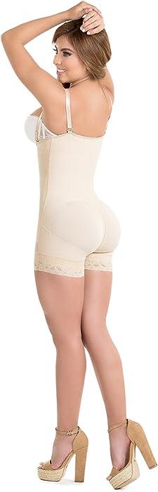 44778b7d9dcef ... Body Flex Fajas Colombianas Reductoras y Moldeadoras High Compression  Garments After Liposuction Bodysuit ...