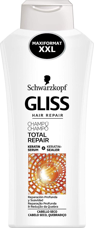 Gliss - Champú Reparación Total para Cabellos Secos - 650ml - Schwarzkopf