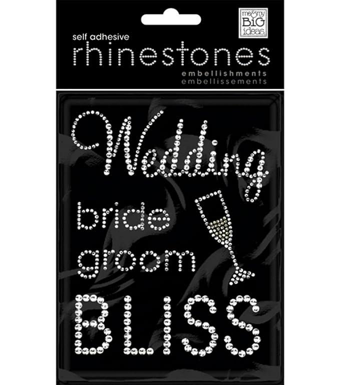Amazon.com: Me & My Big Ideas Rhinestone Embellishment Stickers - Friends