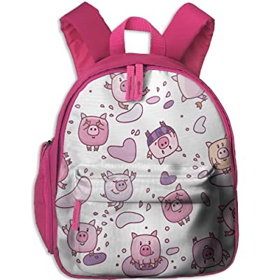 Kid's Pre School Backpack Boy&girl's Cute Pigs Cartoons Book Bag hot sale 2017