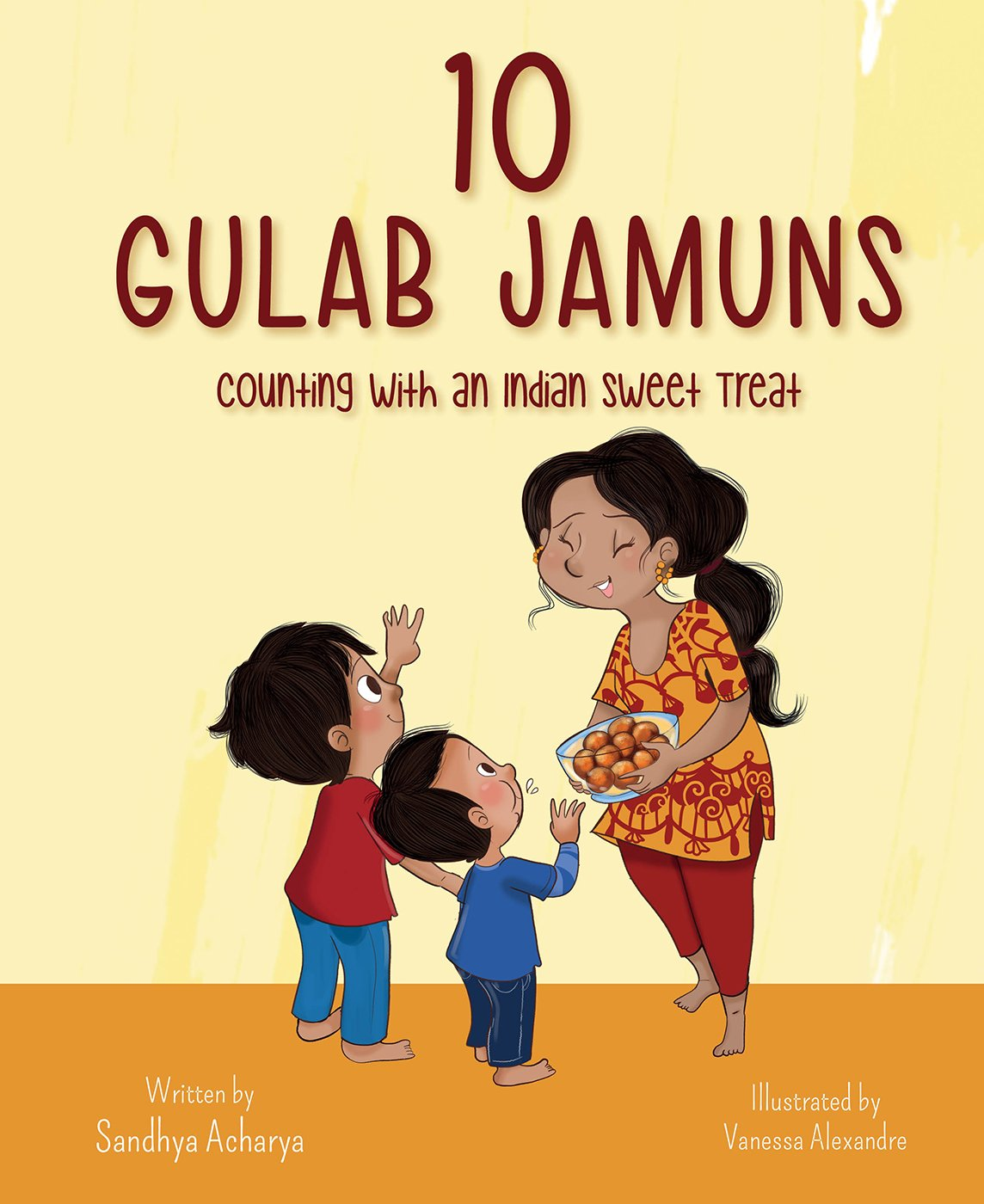 10 Gulab Jamuns: Counting with an Indian Sweet Treat