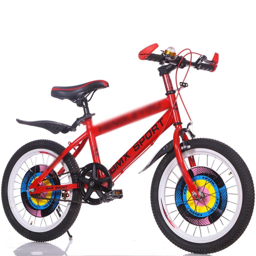 Duwen子供の自転車子供の自転車単一速度18 /20 /22 /24インチ7 – 12 Years OldオスとメスElementary and Middle学校学生マウンテンバイクレッド B07F14QW5K 22 inch