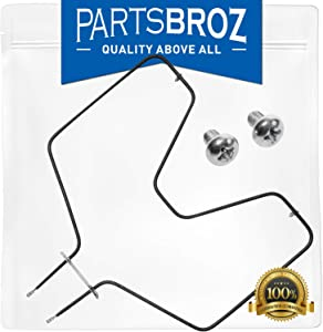 WB44K5012 Bake Element for GE Ovens by PartsBroz - Replaces AP2030968, 1944, 325883, 326365, 340521, 4334928, 8029, AH249247, EA249247, PS249247, WB44K5012E, WB44K6012, WB44M0001, WB44M1, WB44X0230