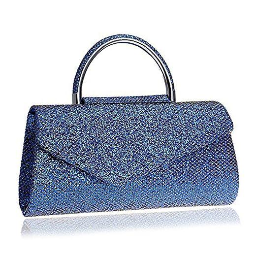 WANGXN Sacs à main pour femmes Embrayages Sparkly Crystal Diamante Messenger Bag Banquet Party Sacs à main haut de gamme , black
