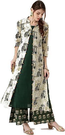 Indian Pakistani Womens Kurta Kurti Womens Casual Wear Top Dress Tunic New Tunic