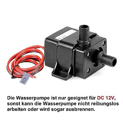 Super TSSS Brushless Mini Submersible Pumpe Wasserpumpe Kreiselpumpe EM16