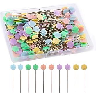 pins de metal pins calabash SHANGUP 300 unidades de marcadores de ganchillo pera accesorios para punto punto punto punto para hacer manualidades