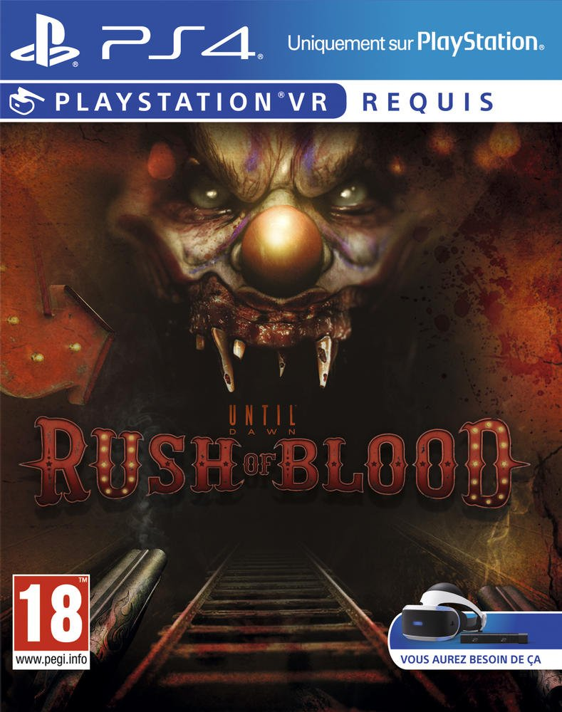 Until Dawn : Rush of Blood - PS4 | Supermassive Games. Programmeur