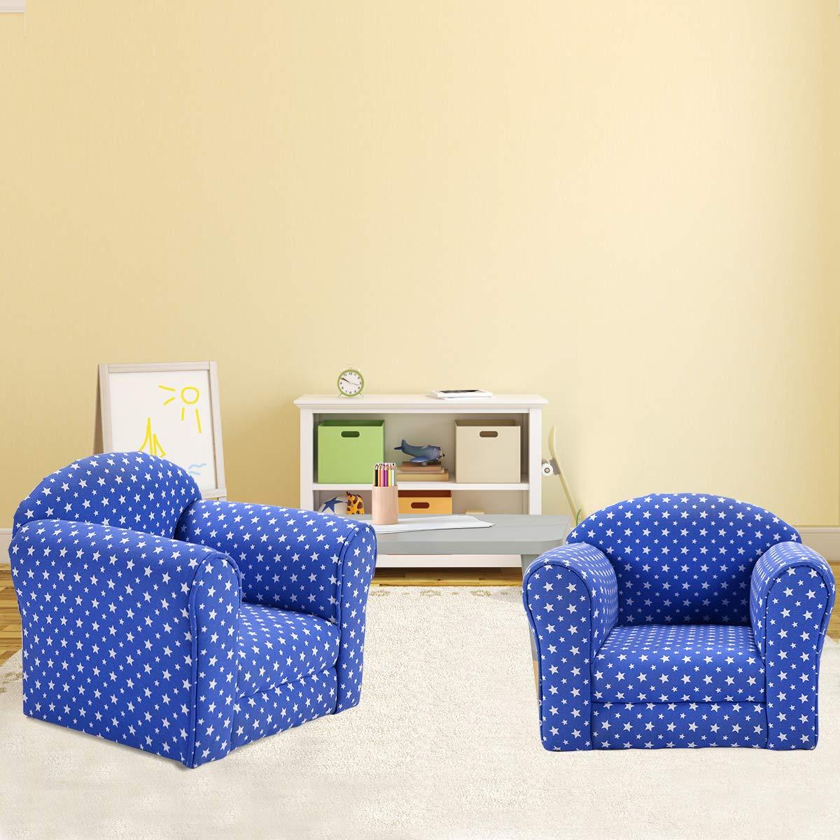 Amazon.com: Costzon sofá con estrellas y reposabrazos ...
