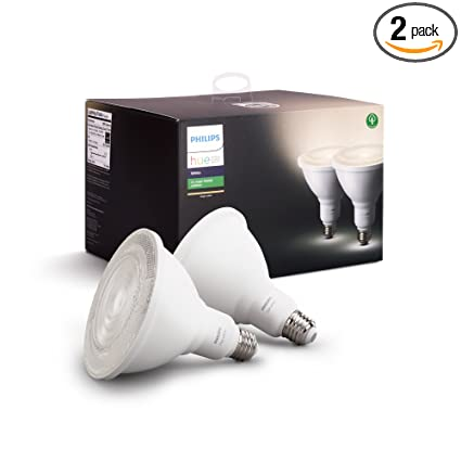 Philips Hue Outdoor Lampen.Philips Hue White Outdoor Par38 13w Smart Bulbs Philips Hue Hub