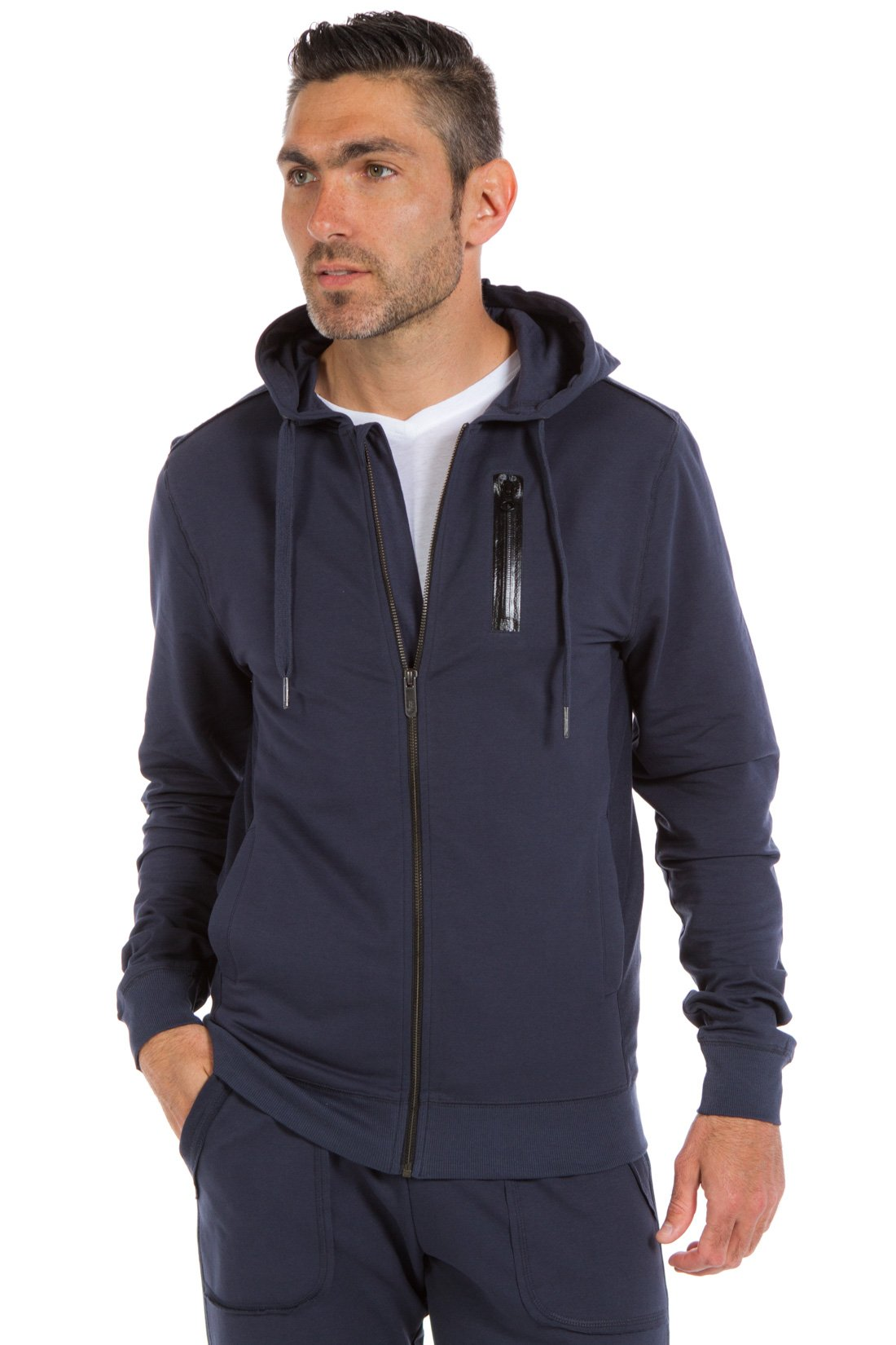 Ably Apparel Explorer Hoodie (Large, Navy)
