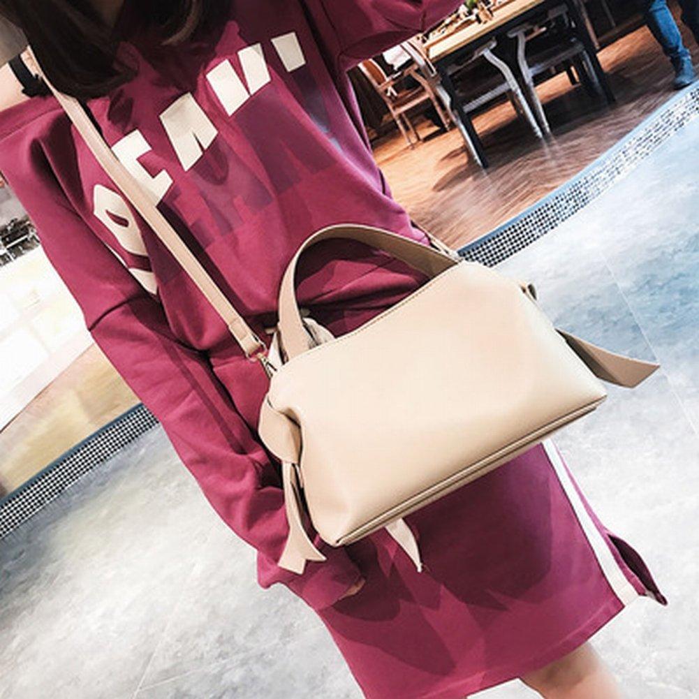 Handtasche Weibliche Einfache Messenger Bag Weiblichen Retro-Bogen Schulter Mode Handtaschen , khaki