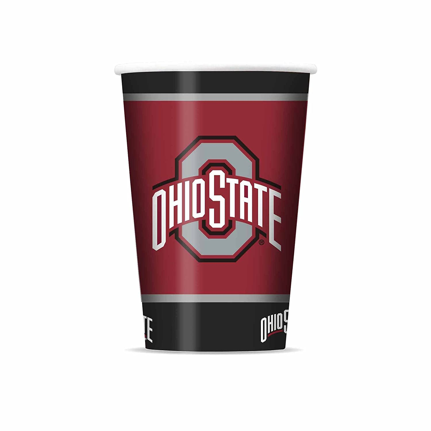 Pack of 20 NCAA Ohio State Buckeyes Disposable Paper Cups