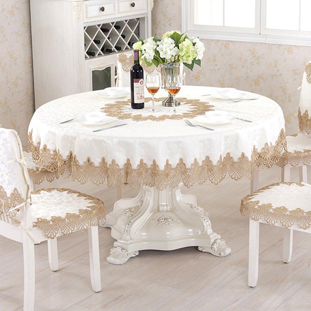 William 337 Spitze Tischdecken Runde Tischdecke Tee Tischdecke Tischtuch (Round-90cm) (größe   Round-90cm) B07CQKN3Z4 Tischdecken Großer Verkauf   Sonderangebot