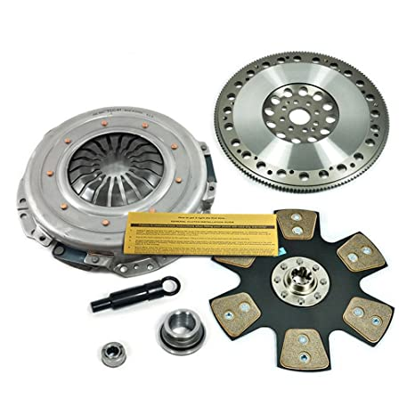 "Valeo etapa 4 Disco 11 ""Kit de embrague + Volante Ford Mustang Cobra SVT"