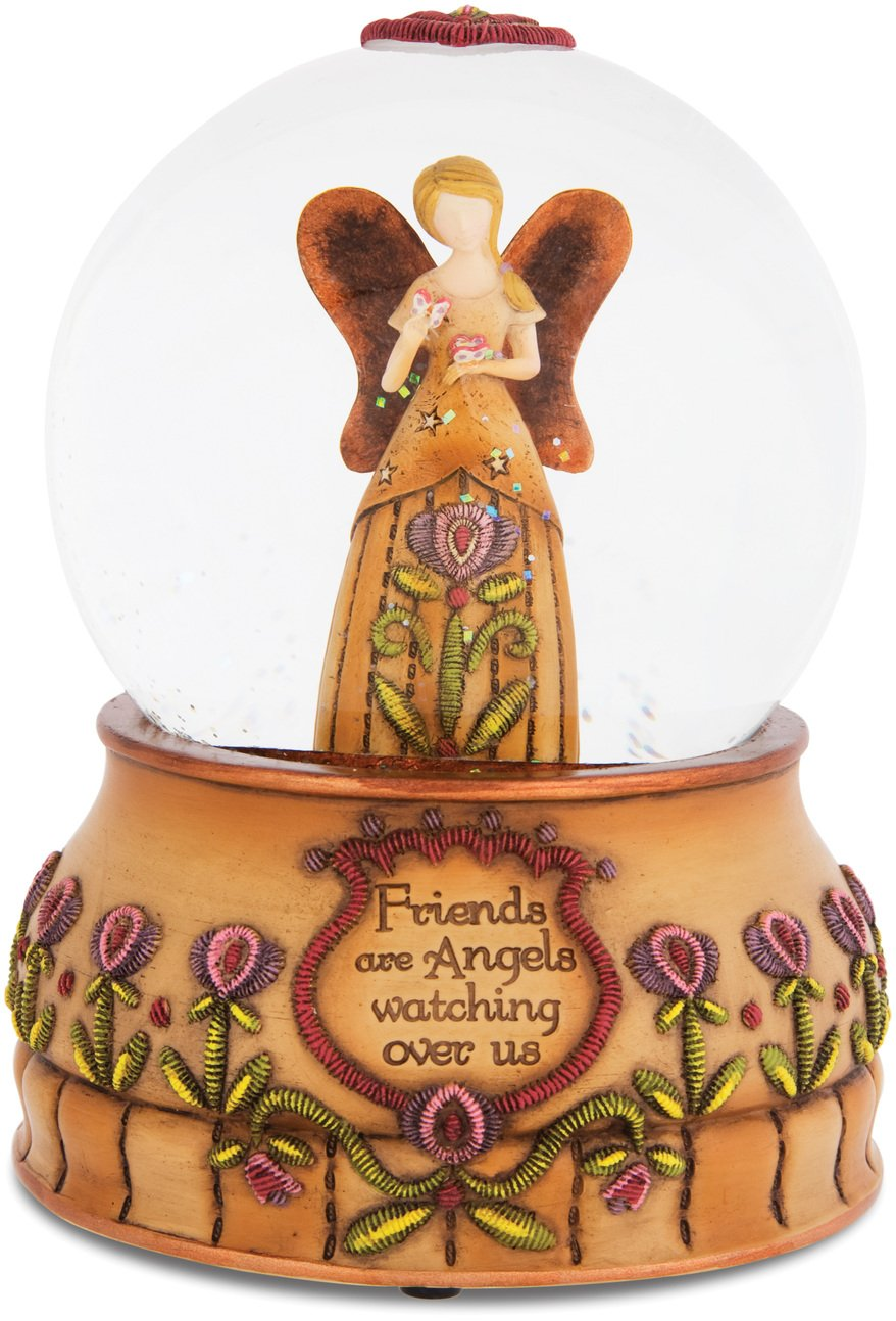 Pavilion Gift Company Country Soul 29019 100mm Musical Water Globe, Friends, 6-Inch
