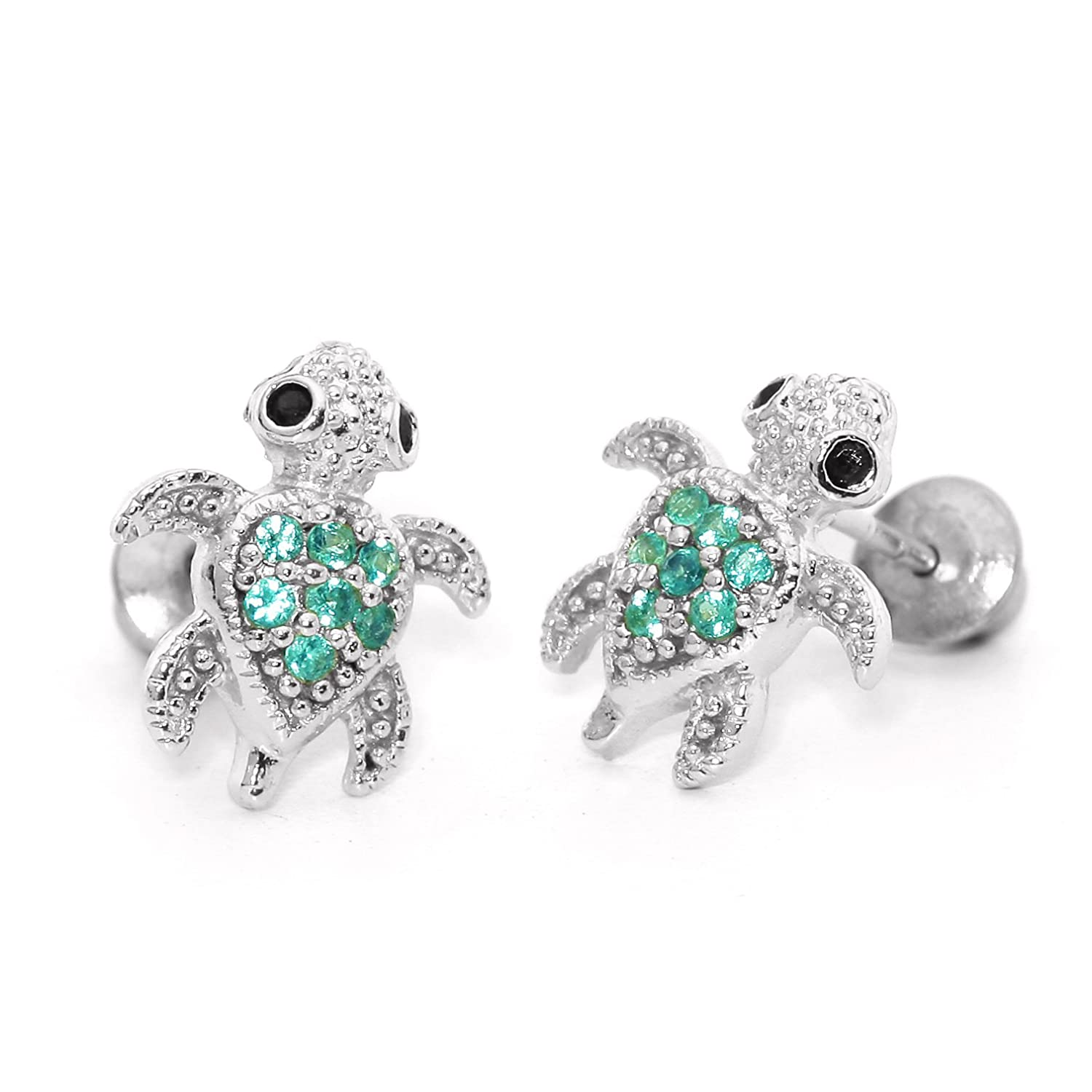 earrings silver unisex cz earring jewelry jgood bling ct sterling jewellery stud