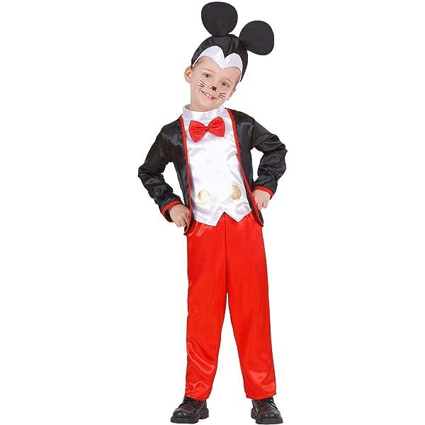 WIDMANN 49139 - Disfraz de Mickey Mouse para niños, multicolor ...