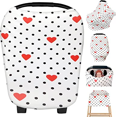 Zoylink Baby Car Seat Canopy Multifunctional Infant Car Seat Cover