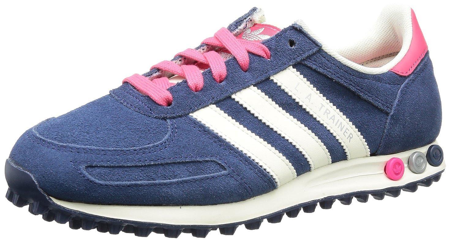 Adidas (Stdars/Ecru/) LA Trainer W Q34201 Damen Sneaker Blau/Pink (Stdars/Ecru/) Adidas 1ac382