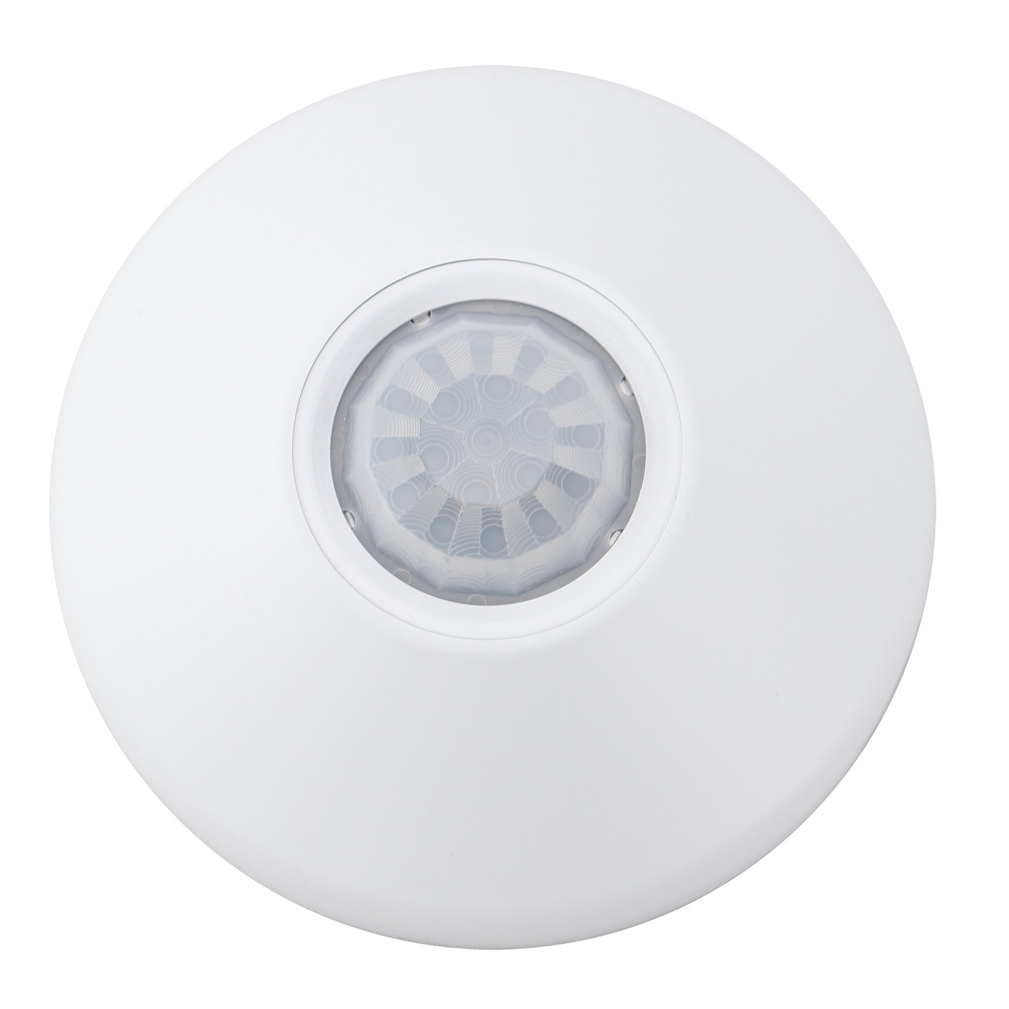 Lithonia Lighting/Acuity NCM-9 Standard Range Low Voltage Passive Infrared Occupancy Sensor 4.550 Inch Dia x 1.550 Inch Depth White