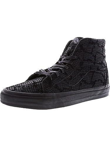 Vans SK8 de HI Reissue DX Reptile Zapatillas de deporte para mujer, negro, 4.5