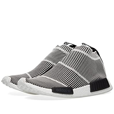 Adidas NMD CS1 PK S79150 \u0026quot;City Sock\u0026quot; Core Black \u0026 Vintage White  Size