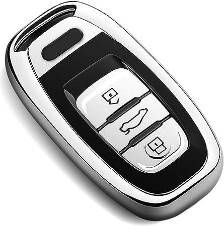 Covell Für Audi Autoschlüssel Hülle Prämie Weiches Tpu Elektronik