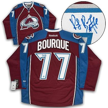 quality design 6be09 a3924 Ray Bourque Colorado Avalanche Autographed Reebok Premier ...