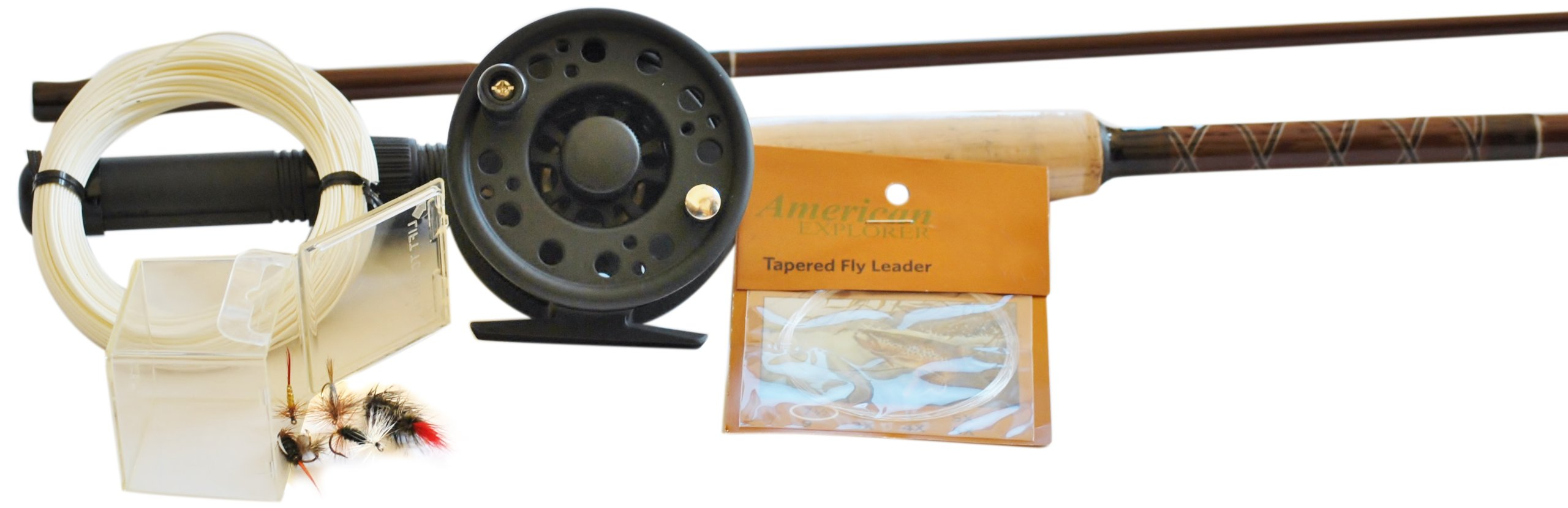 American Explorer Fly Rod Outfit, 8.4-Feet