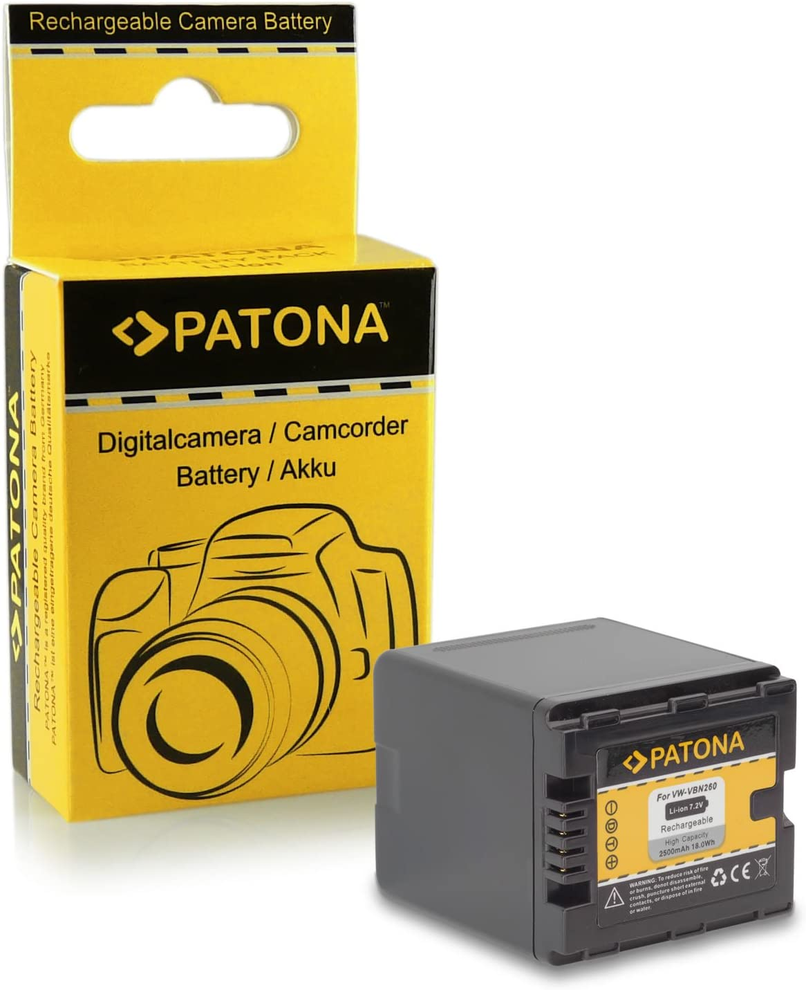 hc-x810 CARGADOR set para Panasonic hc-x909 Batería hc-x929 vbn260 hc-x800