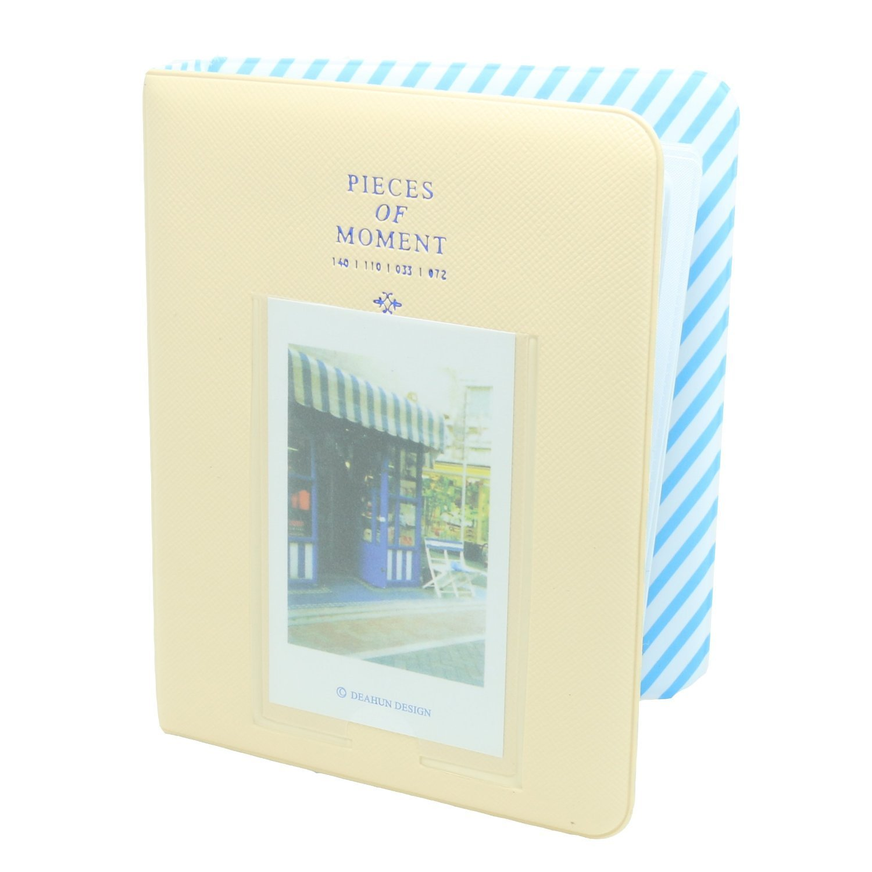 [Fuji Instax Mini Photo Album] -- CAIUL Pieces Of Moment Book Album For Films Of Instax Mini 7s 70 8 25 50s 90/ Pringo 231/ Fujifilm Instax SP-1/ Polaroid PIC-300P/ Polaroid Z2300 (64 Photos, Pink) Caiul Digital Products Co. Ltd caiulpinkBook
