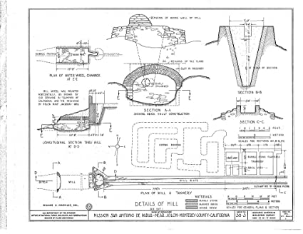 Amazon.com: Structural Drawing HABS CAL, 27-JOLO.V, 1- (sheet 15 of on