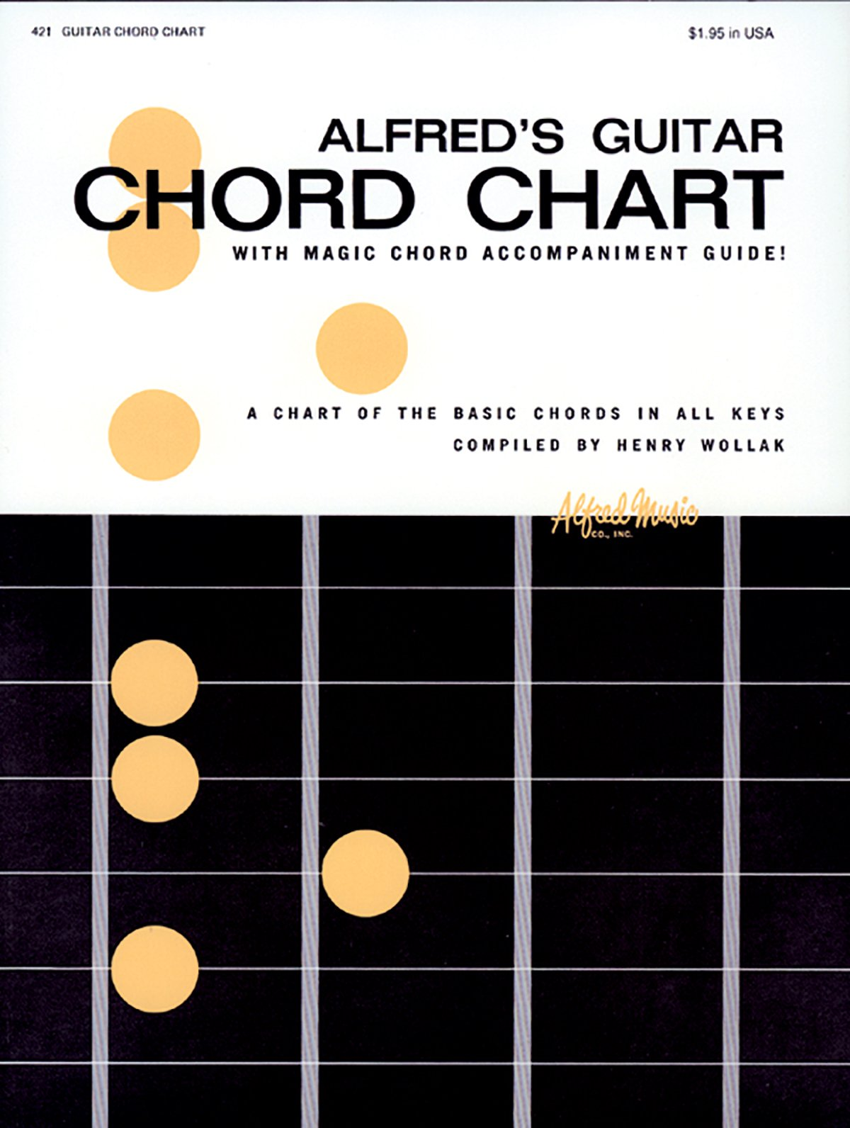 Alfred's Guitar Chord Chart: Henry Wollak: 9780739014448: Amazon.com: Books