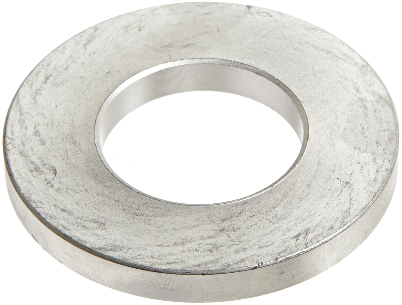 303 Stainless Steel Flat Washer, #10 Hole Size, 1-9/32'' ID, 2-1/2'' OD, 9/32'' Nominal Thickness, Made in US (Pack of 2)