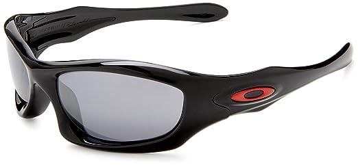349344be0399f Oakley Monster Dog Oo9028 Polished Black Ducati Edition Frame Black Iridium  Lens Plastic Sunglasses  Amazon.co.uk  Sports   Outdoors