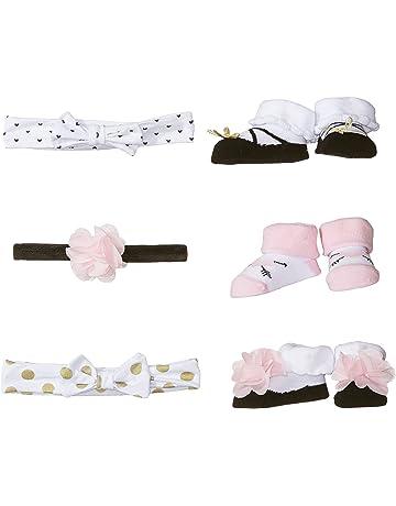 45e62a5140b Hudson Baby Baby Girls  Headband and Socks Set