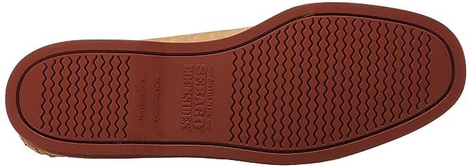 Sebago Crest Docksides Hombre US 9 Beis Mocasín: Amazon.es: Ropa y accesorios