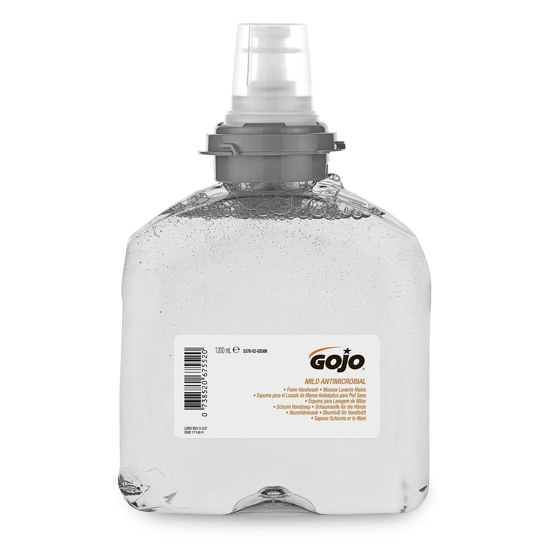 Gojo 5378-02 TFX Antibacterial Foam Soap 1200ml - Pack of 2