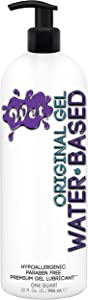 Wet Original Water Based Personal Lubricant 32 Oz