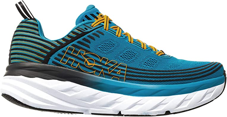 Hoka Bondi 6, Zapatillas de Running por Hombre, Azul (DresdenBlue/Black DBBC), 42 EU: Amazon.es: Zapatos y complementos