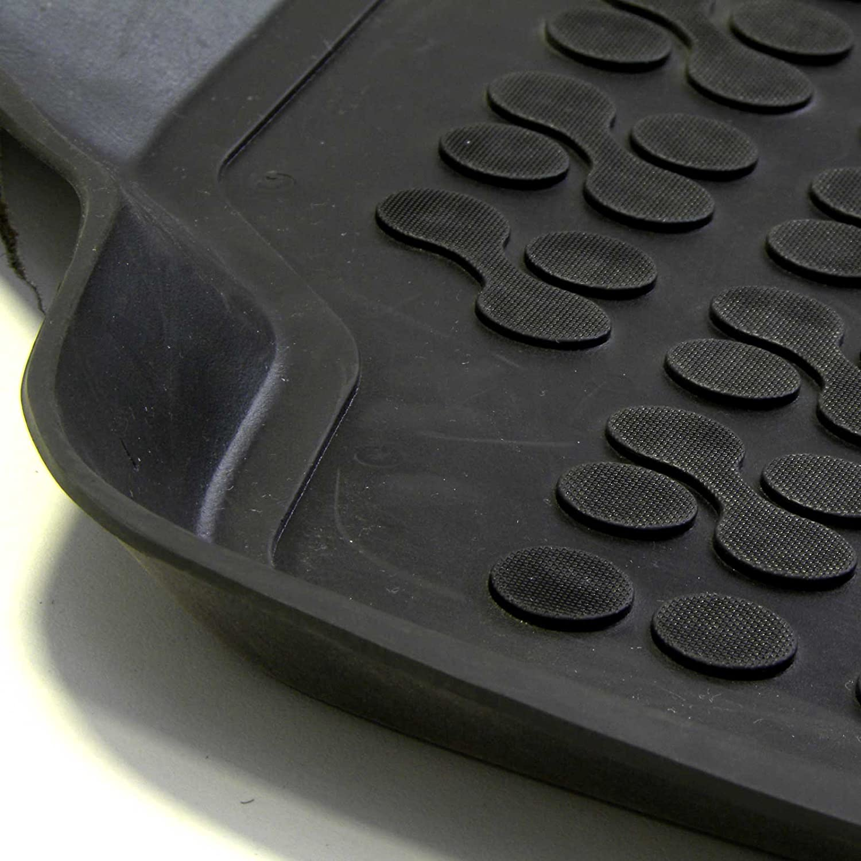 Bac sur Mesure Antid/érapant avec Rebords 5 cm cod 3D 5317 MTM Tapis de Sol C4 Picasso 5 Places 10.2006- en Caoutchouc