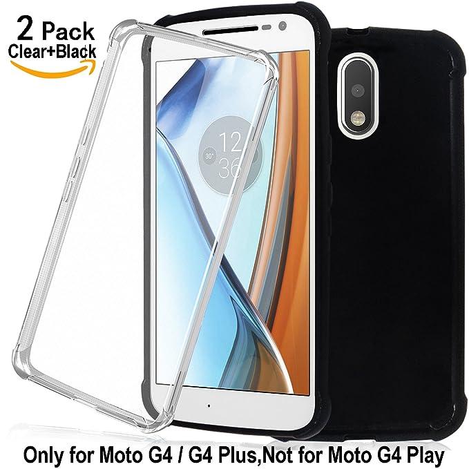 Shalwinn [2 Pack Moto G4 Carcasa Plástico Moto G4 Plus ...