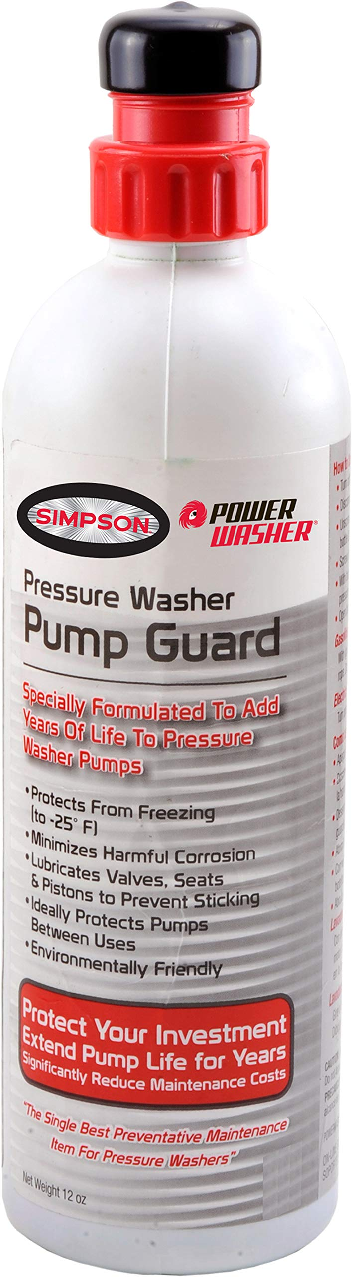 SIMPSON Cleaning Pressure Washer Pump Guard by Simpson Cleaning