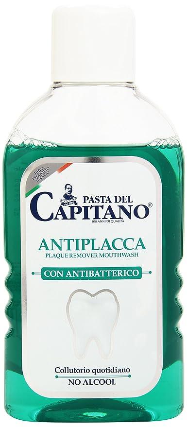 Capitán de pasta - antiplaca, enjuague bucal diario con ...