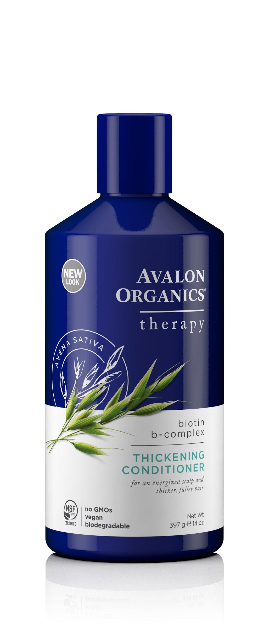 Avalon Organics Biotin B-Complex Thickening Conditioner, 14 Ounce
