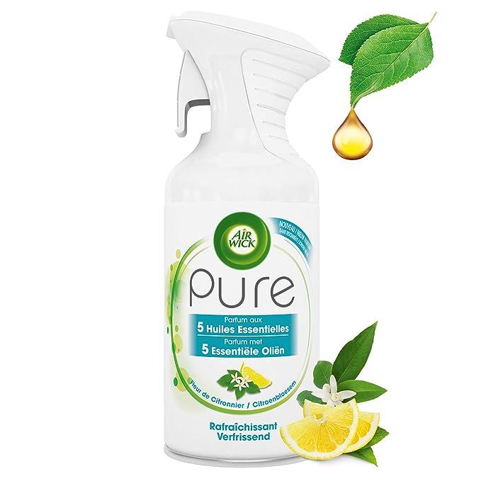 Air Wick Aerosol Pure aceite esencial: Amazon.es: Salud y cuidado personal