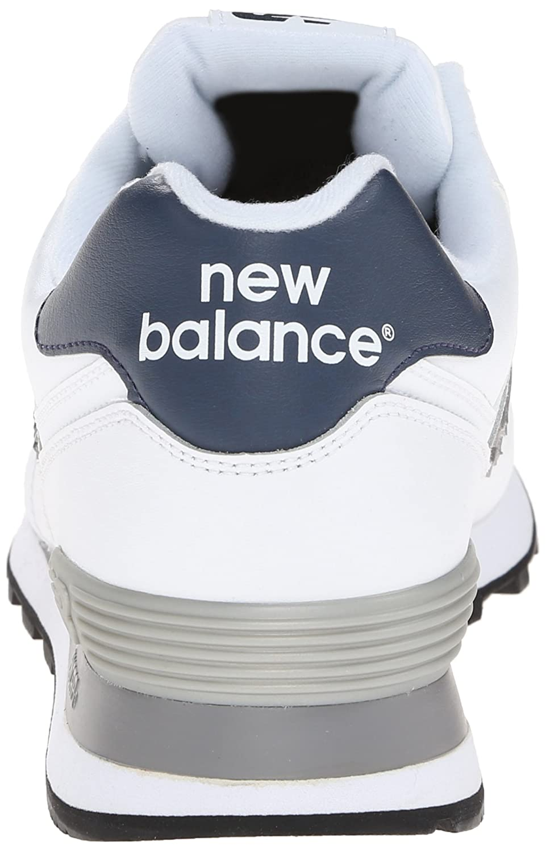 Nouvel Équilibre 574 Hommes En Cuir Blanc aR4aZx9St